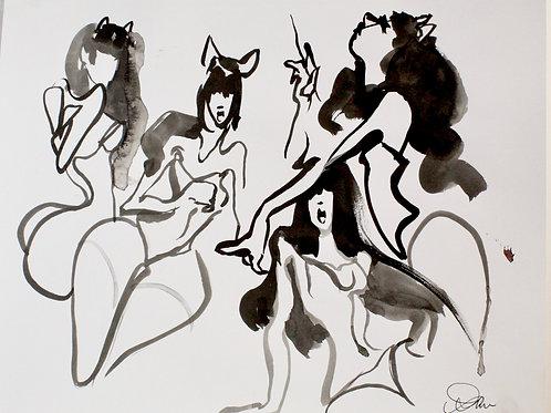 Spirit Drawing: 2 Minute Poses
