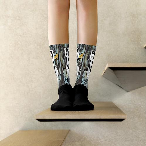 Pour Art Fishy Socks