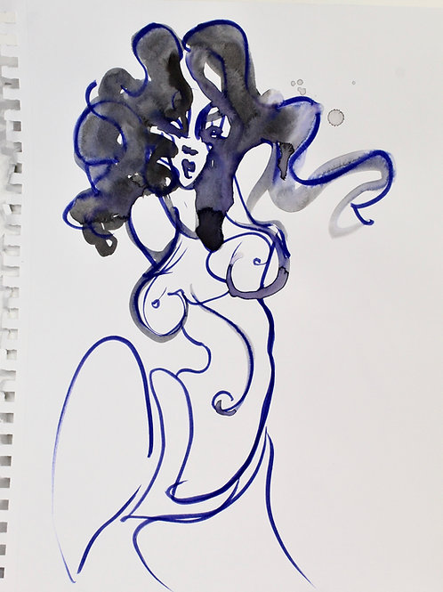 Spirit Drawing: Temptress