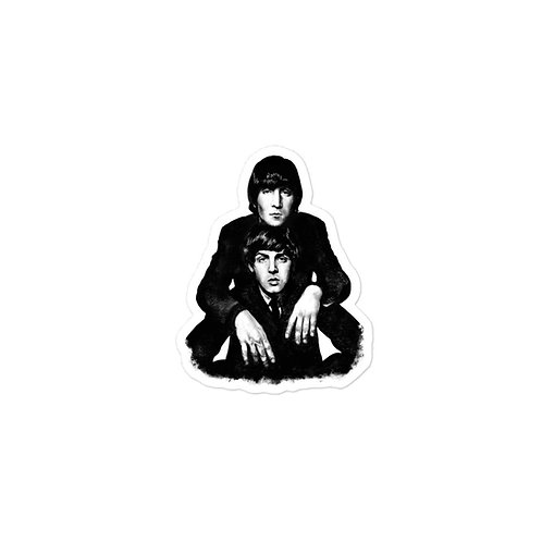 Lennon McCartney '65 Sticker