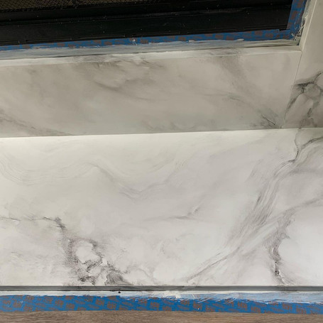 Faux Marble Effect