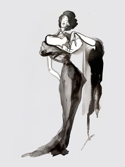 Fashion Illustration 1954