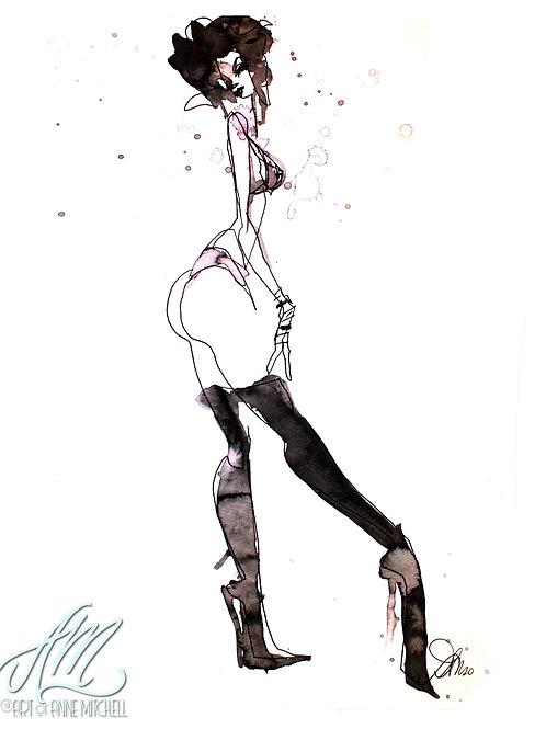 Edward Stripperhands Nixie Figure