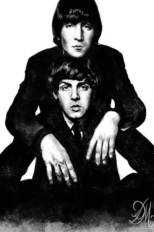 Lennon McCartney Print