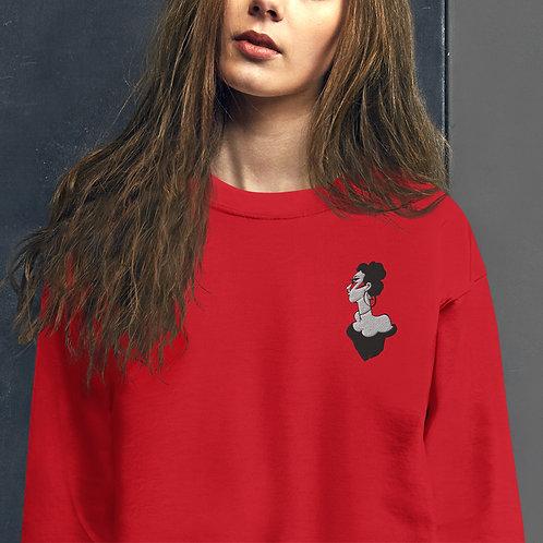 Telephone Embroidered Sweatshirt