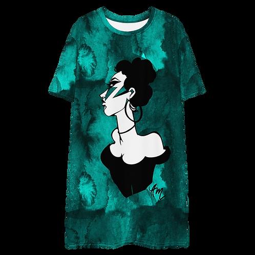 Telephone T-shirt Dress
