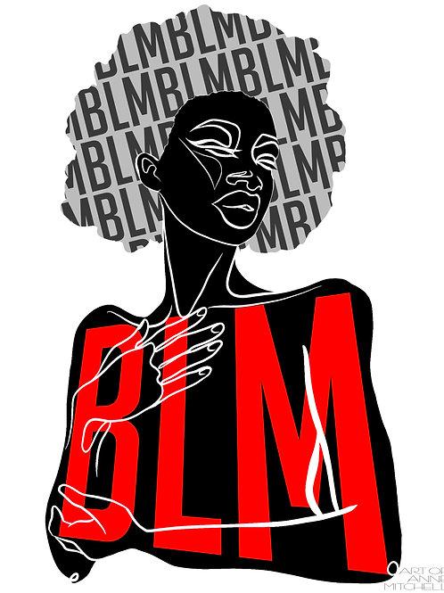 BLM Print 'Contour'