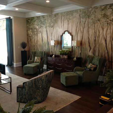 Showhouse Mural