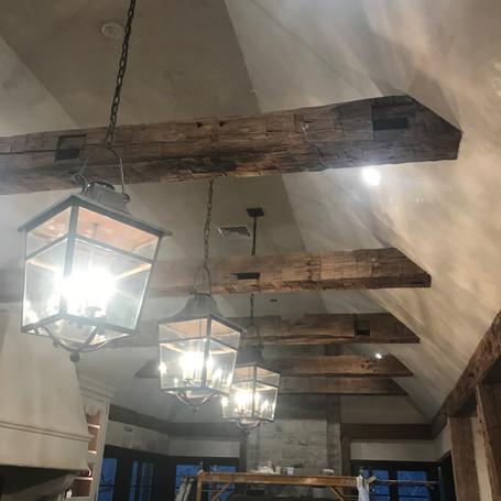 Venetian Plaster Kitchen Ceiling