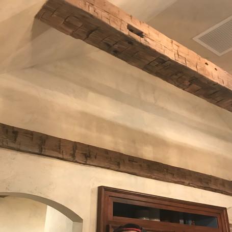 Venetian Plaster Kitchen Ceiling & Walls