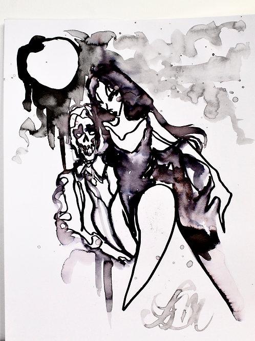 Spirit Drawing: Moonlight
