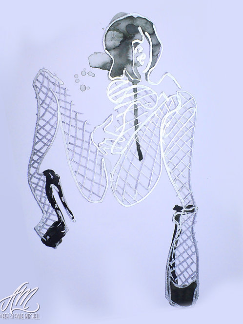 Cyber Sinferno Lucille Metallic Nets