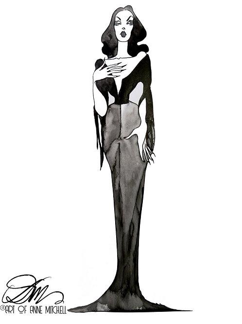 Maila Nurmi as Vampira, 1950s