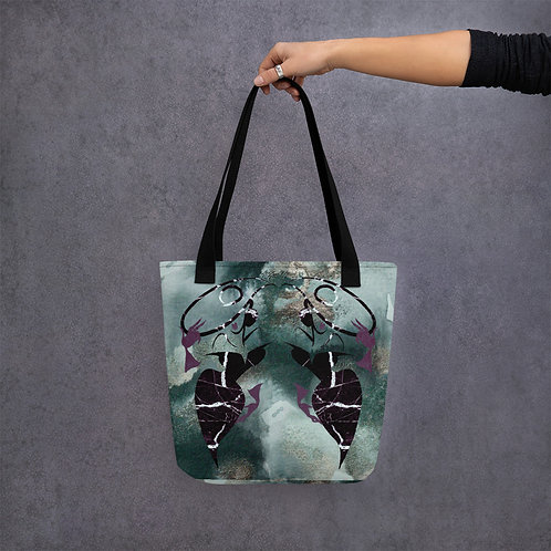 Art of Anne Mitchell Marble Logo Tote