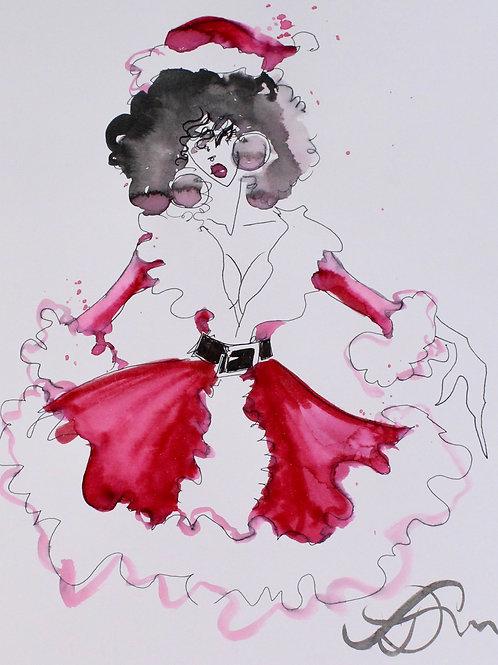 Audrey Love - Santa Brat - Cirque du So Weird