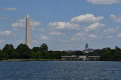 Washington Monument and Old Post Office