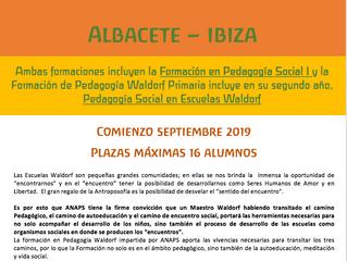 IBIZA - ALBACETE FORMACIONES EN PEDAGOGÍA WALDORF