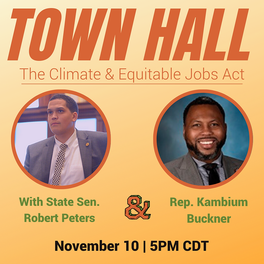 Town Hall With State Sen. Robert Peters
