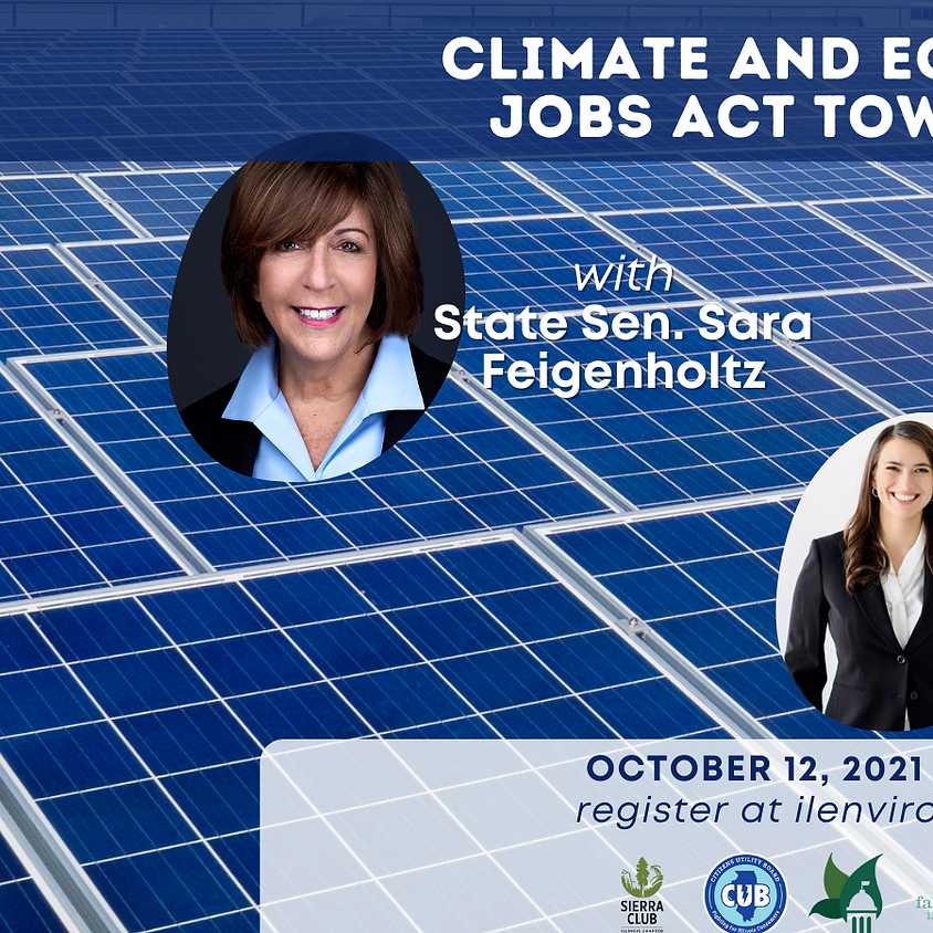 Climate & Equitable Jobs Act Town Hall