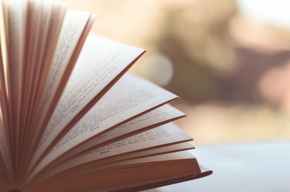 An open book, origin of divination called rhapsodomancy