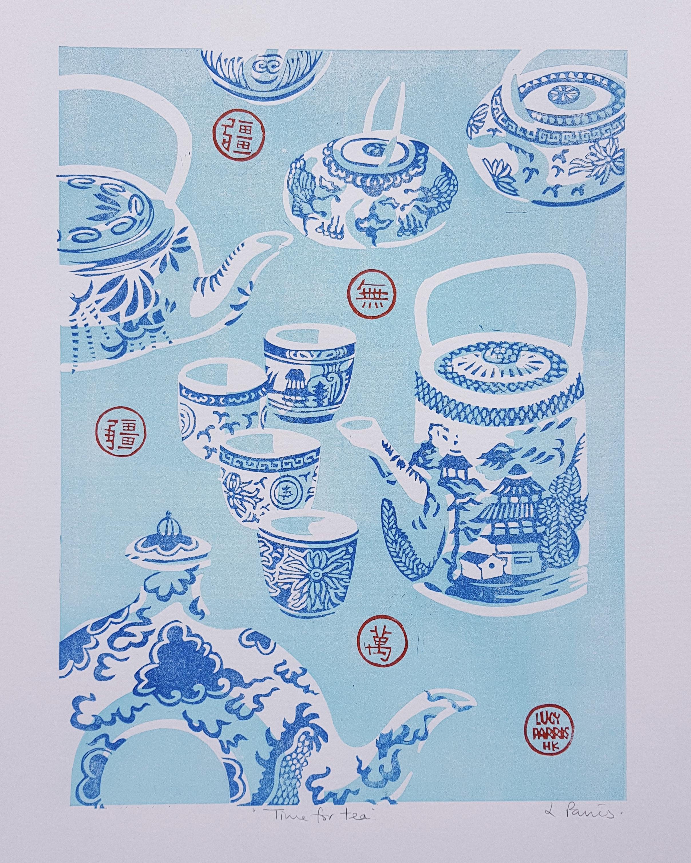 Hong Kong  Teapots and Teacups