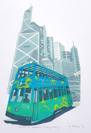 Tram, Central Hong Kong