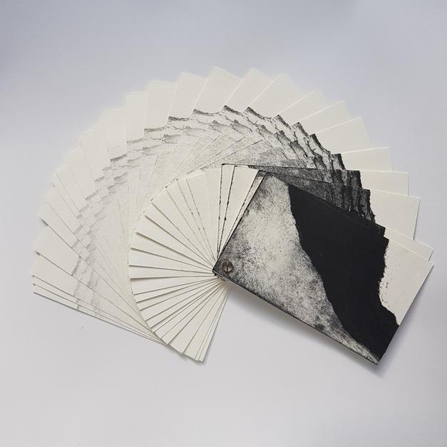 Erosion artist book