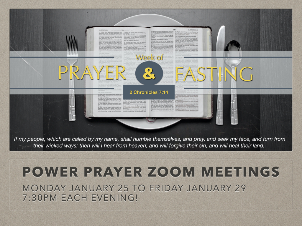 online prayer and fasting guide 1page