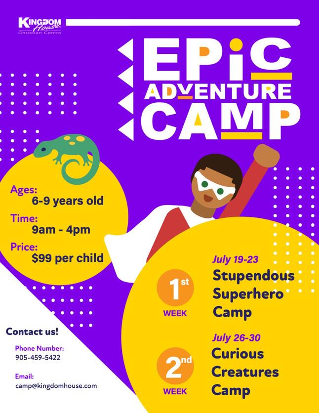 Summer Camps 2021