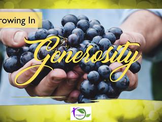 Generosity - The Generosity Zone
