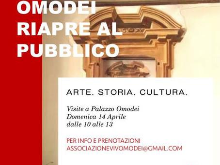Primavera a Palazzo Omodei #domenicheapalazzo