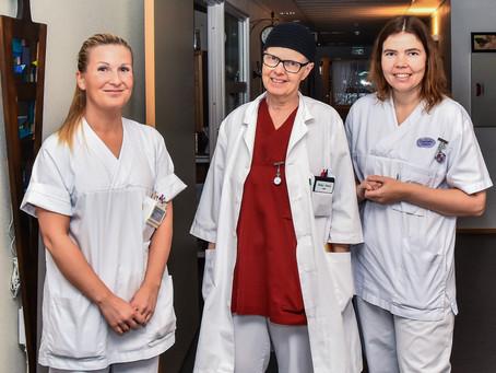 -  Kvalifiserte sykepleiere styrer  sykehjemmene