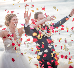 Wedding petal toss Oahu