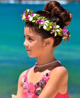 Haku head lei for children