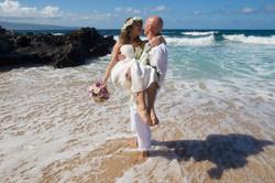 wedding photos on Oahu