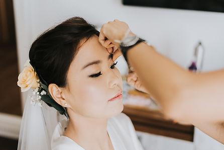Bridal styling, Maui wedding