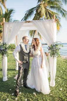 Carrie and Christopher, Maui Olowalu Pla