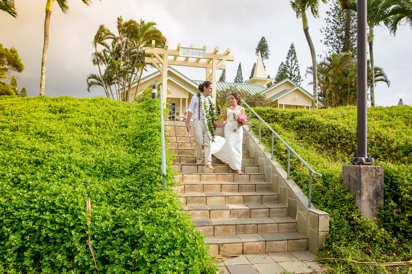 Anastasia and Abraham, Maui Steeple Hous