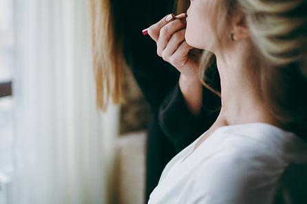 Bride Make-up. Beautiful Wedding Makeup