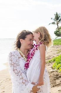 Guest leis for beach weddings