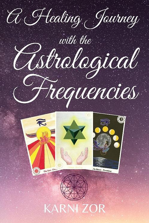 """הספר החדש של קרני צור: """"ריפוי באמצעות התדרים האסטרולוגיים"""""""