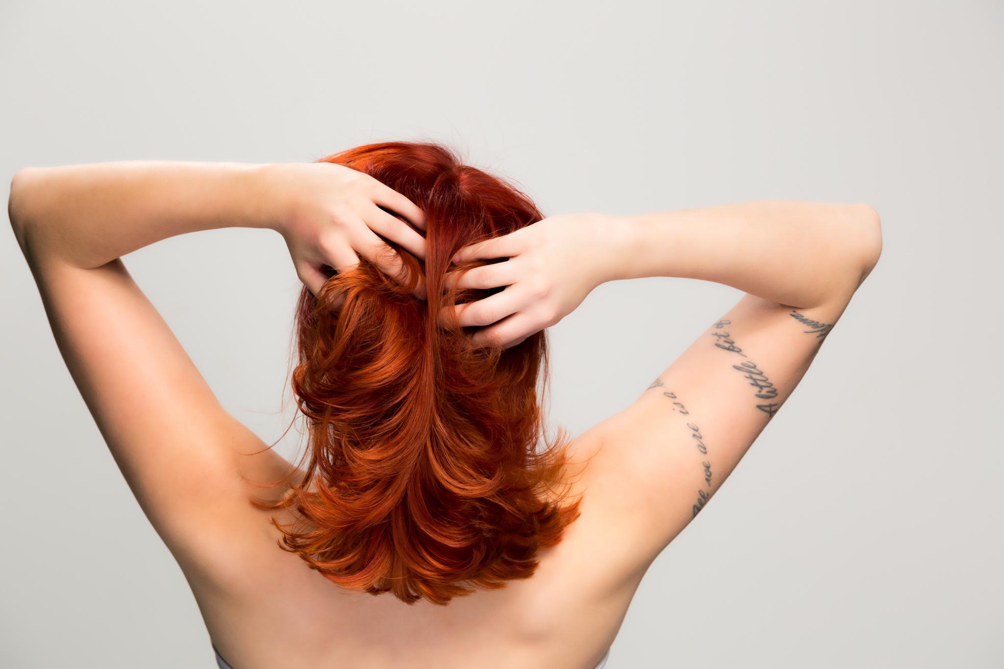 Cerise Hair Photo V1-5