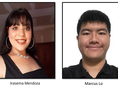 For A Bright Future Foundation Awards Global Scholarship to Marcus Lo and Irasema MenDOZA