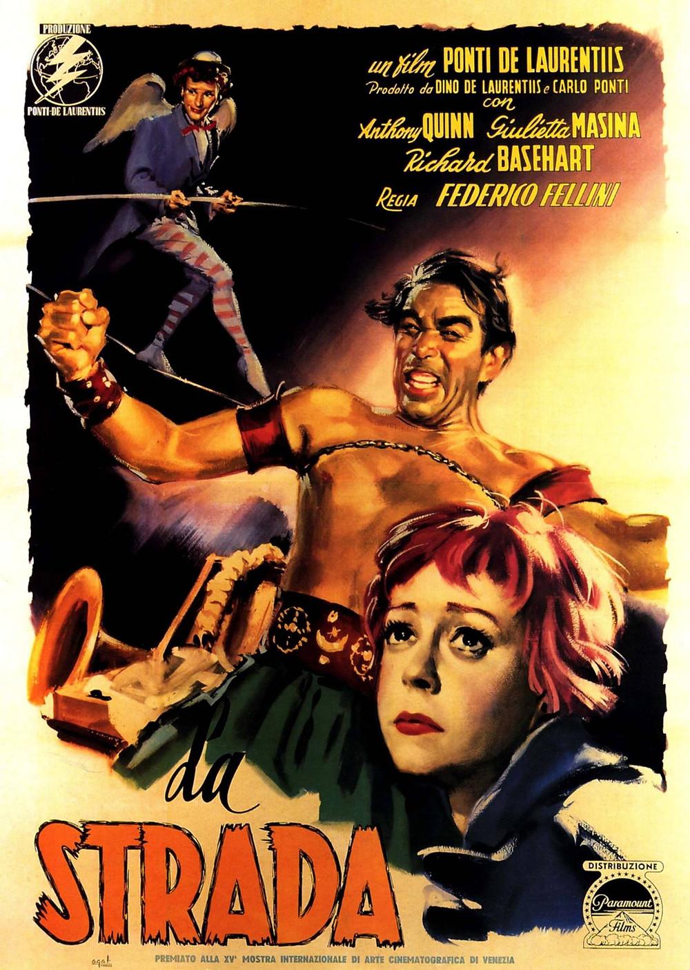 La Strada - Fellini, 1956