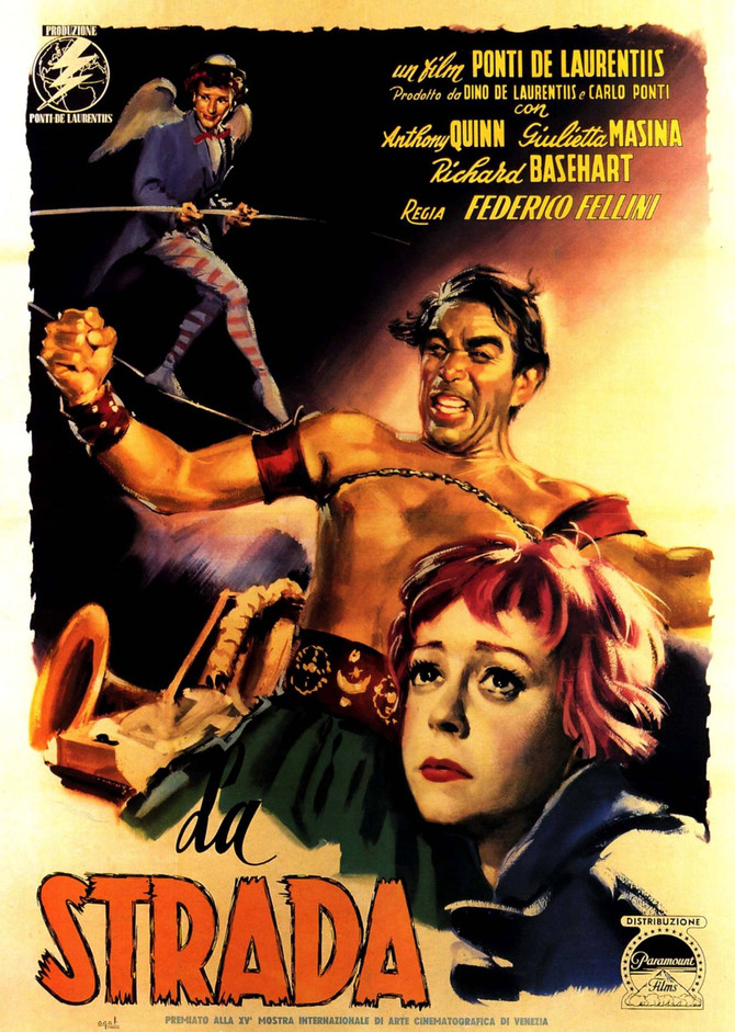 "Cine' Mezzo: Sept. 11 - ""La Strada"""
