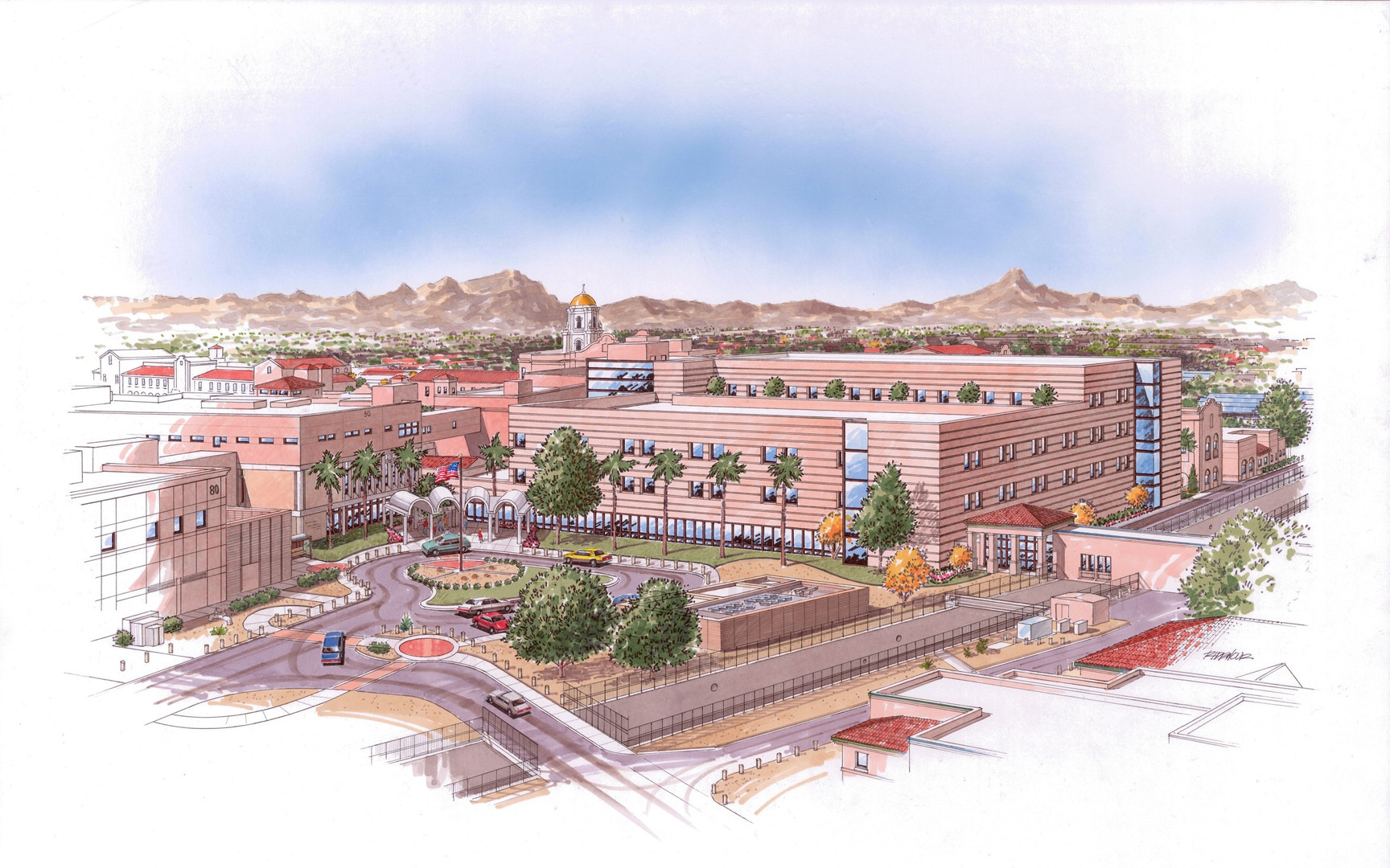 medical, surgical, arizona, healthcare, tuscon, construction, spur design, intensive care unit, plumbing, electrical, clinical, architectural, engineering, interior design, oklahoma
