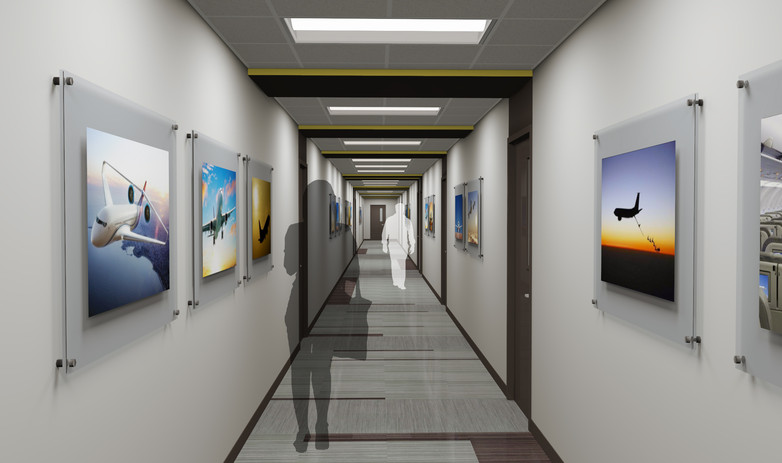 environmental, systems, support, building, okklahoma, city, FAA, aeronautical, center, Mike Monroney, architecture, engineering, planning, services, design, renovation, building, mechanical, electrical