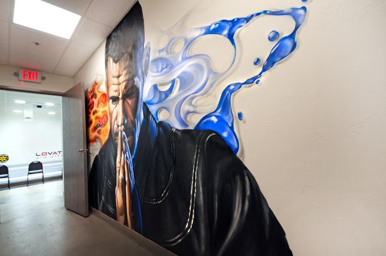 Jiu Jitsu, martial arts, architecture, interior, design, oklahoma city, commercial, active, gym