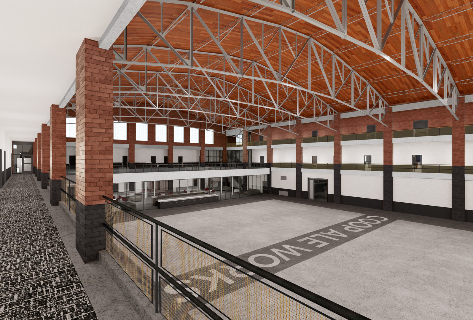 COOP, brewery, oklahoma, city, oklahoma city, brewery, food and bev, beverage, industry, renderings, commercial, portfolio, architecture