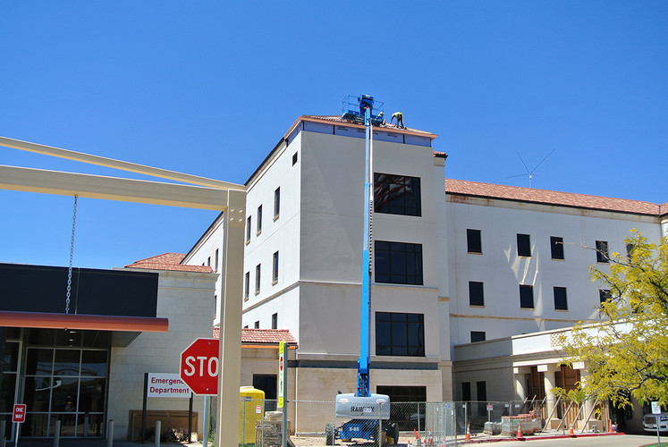 construct, elevator, VA, medical center, amarillo, texas, hydraulic, renovated, expanded, facility, hospital, architecture, engineering, design, oklahoma city, spur design